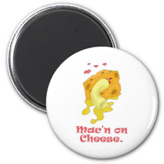 Mac n on Cheese Refrigerator Magnets