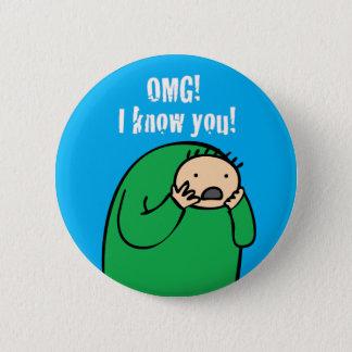 Mac OMG! Button (Blue)