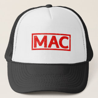 Mac Stamp Trucker Hat