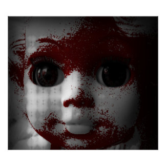 Macabre Living Dead Doll Poster