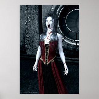 Macabre Thirst Vampire Poster