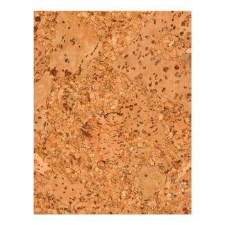 Macadamia Cork Burl Wood Grain Look 21.5 Cm X 28 Cm Flyer