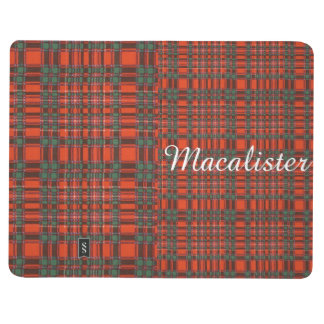 Macalister clan Plaid Scottish tartan Journal