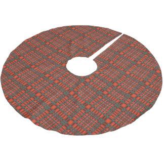 Macalister clan Plaid Scottish tartan Brushed Polyester Tree Skirt