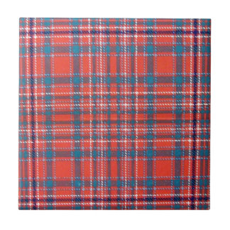 MACALISTER SCOTTISH FAMILY TARTAN CERAMIC TILE