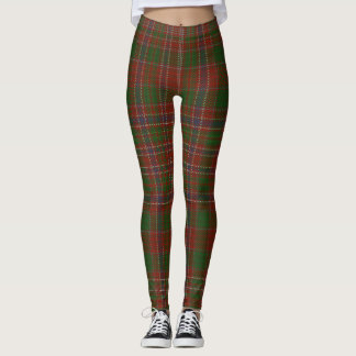 MacAlister Tartan Clan Plaid Leggings