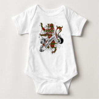 MacAlister Tartan Lion Baby Bodysuit