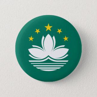 Macanese flag button