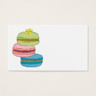 Macaron Macaroon Bakery Business Card
