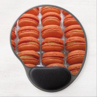 Macaron pattern gel mouse pad