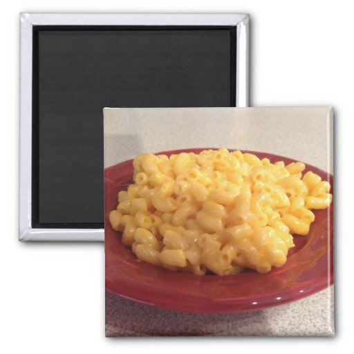 Macaroni and Cheese Refrigerator Magnets