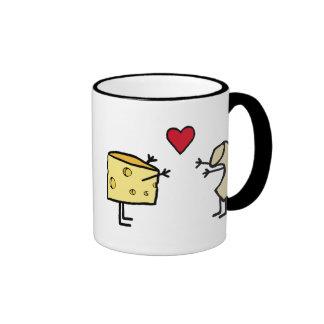 Macaroni and Cheese Ringer Mug