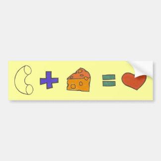 Macaroni & Cheese Bumper Sticker