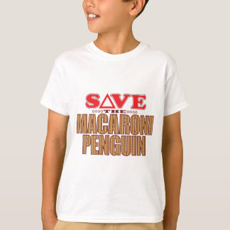 Macaroni Penguin Save T-Shirt