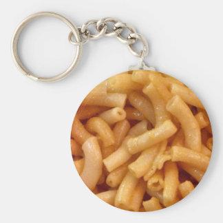 Macaroni's and cheese key ring