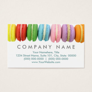 Macarons Business Cards