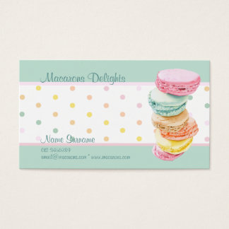 Macarons dots Business Card