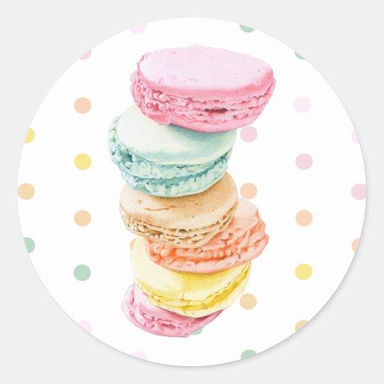 Macarons dots Sticker