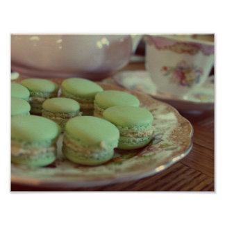 Macarons for Afternoon Tea Poster