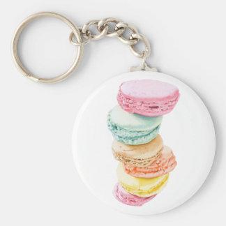 Macarons Keychain