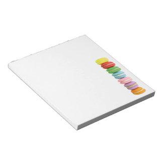 Macarons Notepad