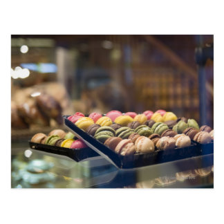 Macaroons in Show Window 2 Postcard