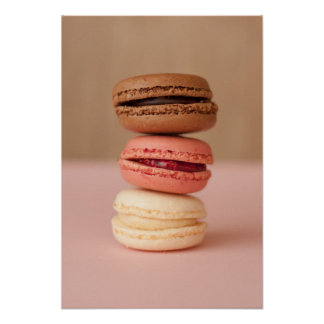 Macaroons kitchen poster