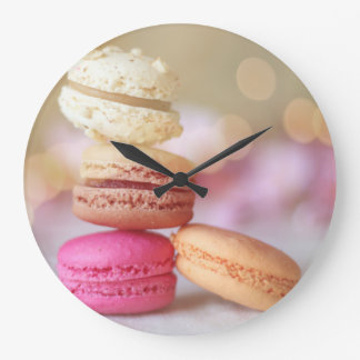 Macaroons on a clock