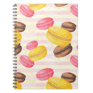 Macaroons Painting Notebook