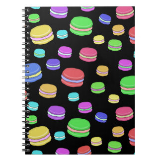 Macaroons Spiral Note Books