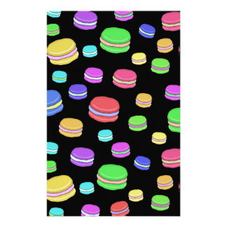 Macaroons Stationery Design