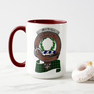 MacArthur Clan Badge Combo 15oz Mug