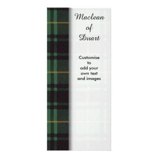 Macarthur clan Plaid Scottish tartan Custom Rack Cards