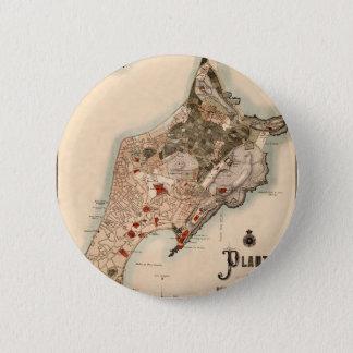 Macau 1889 6 cm round badge