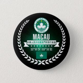Macau 6 Cm Round Badge