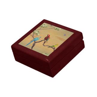 Macau Birds V1 Gift & Jewelry Box