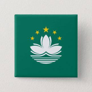 Macau, China 15 Cm Square Badge