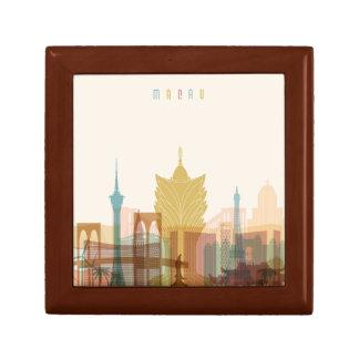 Macau, China   City Skyline Gift Box