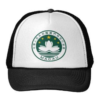 Macau (China) National Emblem Mesh Hat