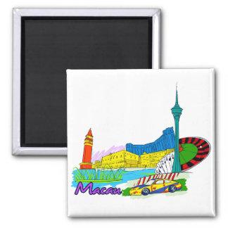 Macau - China.png Refrigerator Magnet