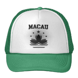 Macau  Coat of Arms Cap