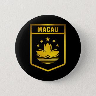 Macau Emblem 6 Cm Round Badge