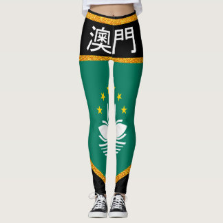 Macau Flag Leggings