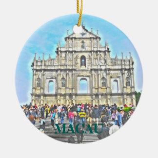 Macau Porcelain Christmas Ornament