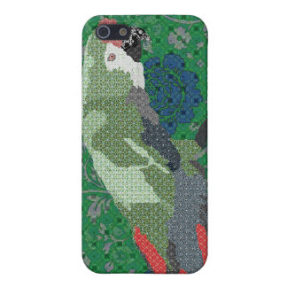 Macaw Green Rose i Cases For iPhone 5