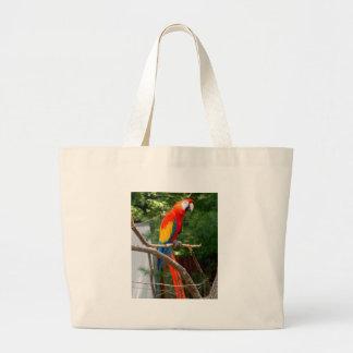 Macaw Large Tote Bag