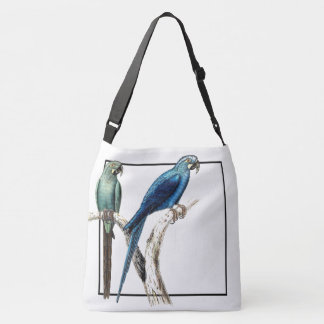 Macaw Parrot Birds Wildlife Shoulder Tote Bag