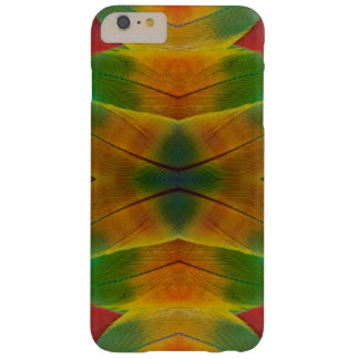 Macaw parrot feather kaleidoscope barely there iPhone 6 plus case
