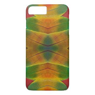 Macaw parrot feather kaleidoscope iPhone 8 plus/7 plus case