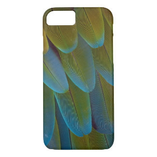 Macaw parrot feather pattern detail iPhone 8/7 case